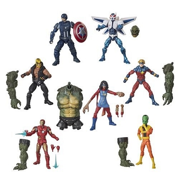 Marvel Legends Marvel's Avengers Wave 1 - BAF Abominiation (Set of 7)
